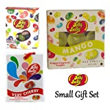 Small Jelly Belly 3 Piece Gift Set (Tealight Candles, Air Freshener & Candy Jelly Bean Sweets)