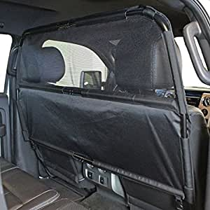 paws 39 n 39 claws deluxe dog barrier 56 wide ideal for trucks large suvs full. Black Bedroom Furniture Sets. Home Design Ideas