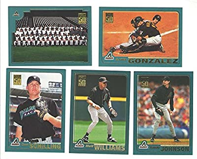 2001 Topps - ARIZONA DIAMONDBACKS Team Set