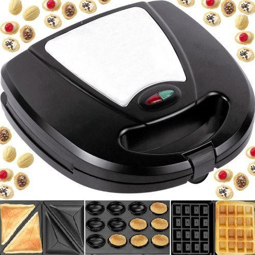 syntrox-germany-3-in-1-edelstahl-magic-maker-nussbacker-sandwichmaker-waffeleisen