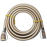 ガスコードSL自在 5m 都市ガス・LPガス兼用
