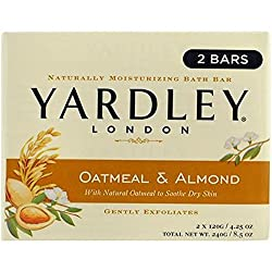 Yardley Oatmeal And Almond Bar Soap By , 2 Count