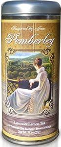 Pemberley - Lavender and Lemongrass Green Tea - Premium Tea Sachets - Jane Austen Inspired Tea Collection - Gourmet Leaf Tea Blend