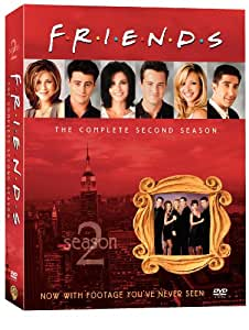 Friends - The Complete Second Season - 4 DVD [Import USA Zone 1]