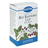 Alvita Tea Bags, Red Raspberry Leaf, Caffeine Free, 24 tea bags  (Pack of 3)