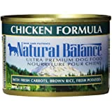Natural Balance Ultra Premium Chicken Canned Dog Formula, Case of 12 Cans/6 Oz