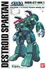 Bandai Macross 1/72 Scale Destroid Spartan MBR-07-MKII Construction Kit