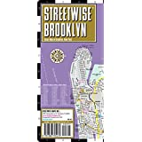 Streetwise Brooklyn Map - Laminated City Center Street Map of Brooklyn, New York - Folding pocket size travel map with subway stations