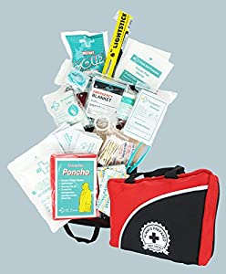 Convenient First Aid Kit - Ultra Light, Small Long-lasting Case - Ideal for the Car, Kitchen, School, Camping, Hiking, Travel, Office, Sports, Hunting and Home - Over 70 pieces - Best Choice for Trauma, Survival & Emergency First Aid Kit, Disaster Prepare