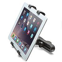 Aduro U-Grip Adjustable Universal Car Headrest Mount for Tablets, Apple iPad, Galaxy Tablet (Retail Packaging) (Black) by Aduro