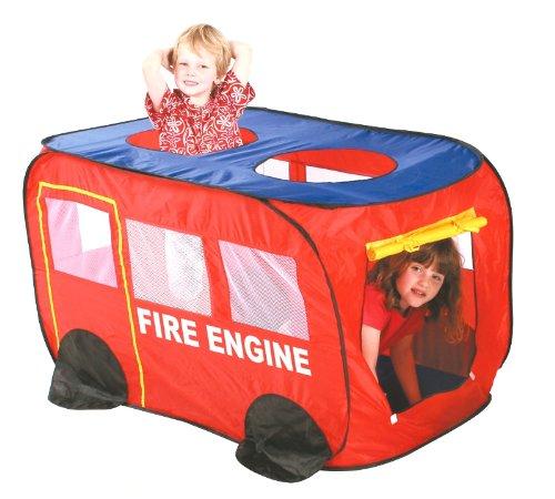 Kids Fire Engine Truck Play Tent