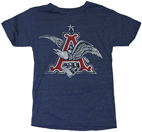 anheuser-busch-mens-t-shirt-distressed-classic-eagle-a-logo-small-heather-blue