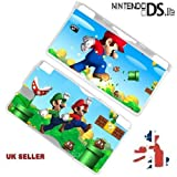 SUPER MARIO BROTHERS Protective HARD CASE COVER For Nintendo DS LITE Console ONLY In A Retail Pack. Ready For Fast 1st Class UK Post.