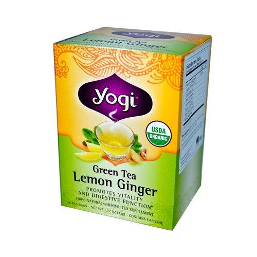 Yogi Tea - Green Tea Lemon Ginger Organic - 16 Tea Bags