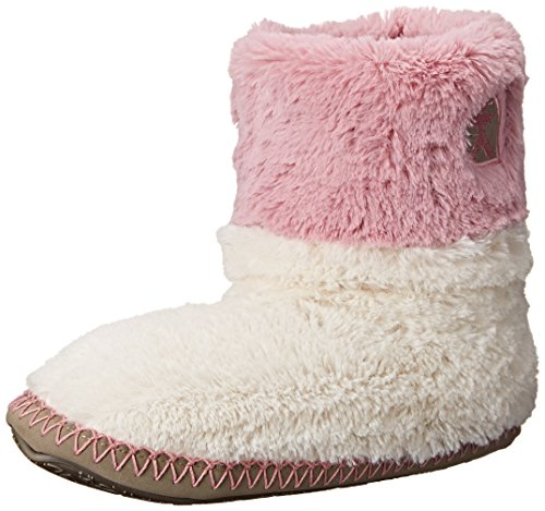 Bedroom Athletics Womens Pantofole Felce Crema/dusky Pink/moonrock L Cream/Dusky Pink/Moonrock