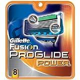 Gillette Fusion PROGLIDE POWER Razor Blades 8 Pack Cartridges Refills