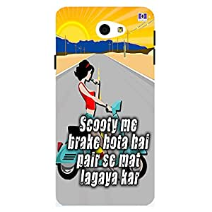 Brake - Mobile Back Case Cover For Samsung Galaxy On 7 (2016)
