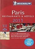 echange, troc Collectif Michelin - Guide Michelin Paris 2011