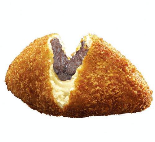 自宅で揚げてアツアツを アンパンの進化系 小麦家の 美味!ぜんざいパン(冷凍生地)