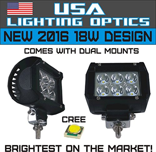 1-2x-4-USA-Lighting-Optics-TM-18W-6-CREE-LED-Brightest-on-the-Market-SUV-Off-road-Boat-Headlight-Spot-Driving-Fog-Light-Mounting-Bracket-Beware-of-Fakes