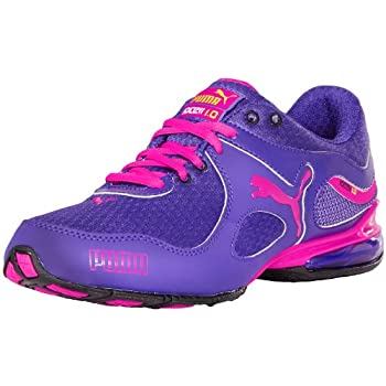 Add style and comfort to your workout with the PUMA Cell Riaze sneaker. Between the AirMesh upper, textile lining and EcoOrtholite footbed of this women's athletic shoe, the interior remains dry, cool and odor-managed. The ArchTec TPU shank lends sta...