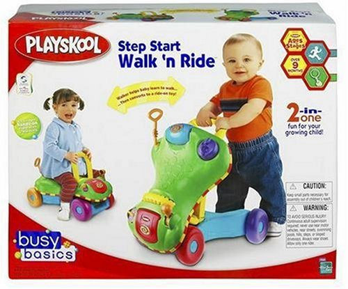 Step Start Walk 'n Ride - Colors May Vary