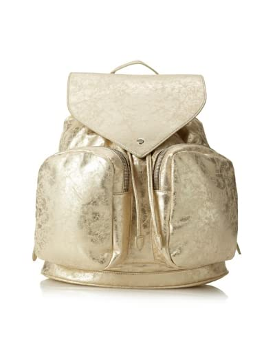 Nila Anthony Women's Metallic Backpack, Gold As You See