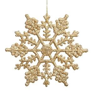 Snowflake  4-Inch  Gol...