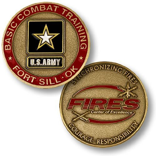 Fort Sill, OK, Basic Combat Training Challenge Coin - 1