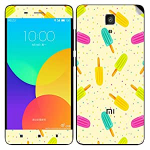 Theskinmantra Candy colours Xiaomi Mi4 mobile skin