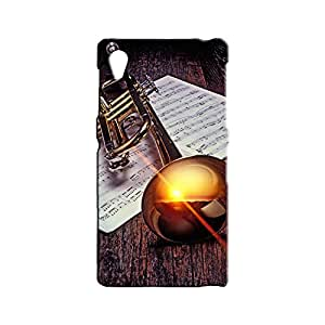 BLUEDIO Designer 3D Printed Back case cover for Sony Xperia Z1 - G1377