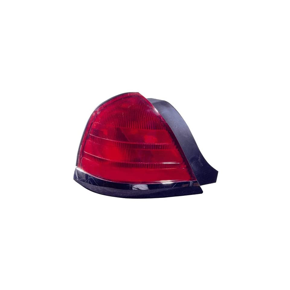 Depo 331 1964L US R Ford Crown Victoria Driver Side Replacement Taillight Unit without Bulb