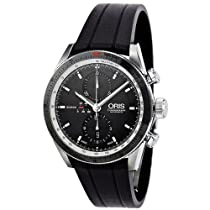 Oris Artix GT Chronograph Black Dial Mens Watch 674-7661-4154RS