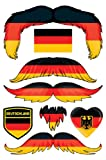 StacheTATS Germany Temporary Mustache Tattoos