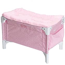 Corolle Les Classiques Doll Accessories (Doll Bed And Changing Table)