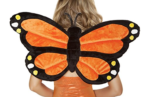 J. Valentine Women's Monarch Butterfly Wings
