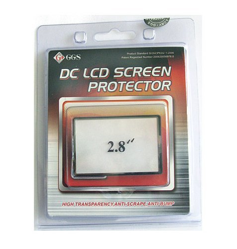 Ggs Optical Glass Lcd Screen Protector 2.8 Inches For Digital Cameras