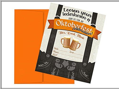 OKtoberfest invitation Ideas