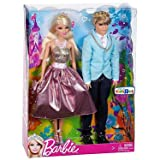 Mattel Barbie Prince And Princess Gift Set (Colors/Styles Vary)