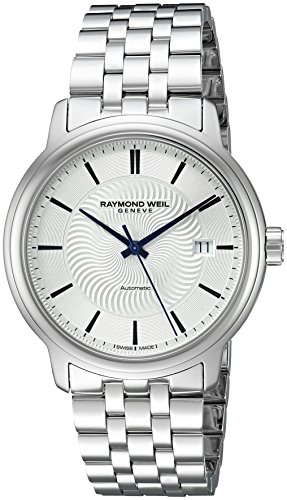 Raymond-Weil-Mens-Maestro-Swiss-Stainless-Steel-Automatic-Watch-ColorSilver-Toned-Model-2237-ST-65001