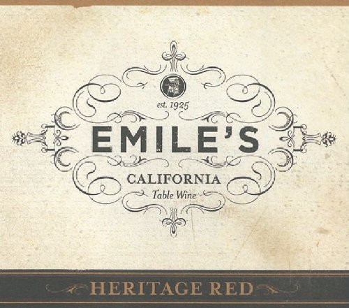 Emile's NV  Table Red, California 750 mL