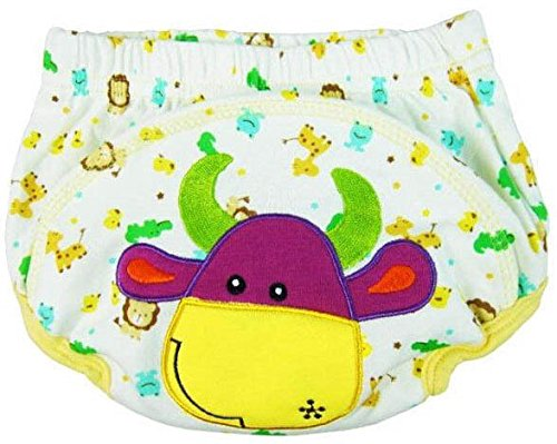 Cow Baby Diaper Cotton Waterproof Nappies Summer Training Pants For Toddler Boys Girls Baby Clothes Nappy front-925854