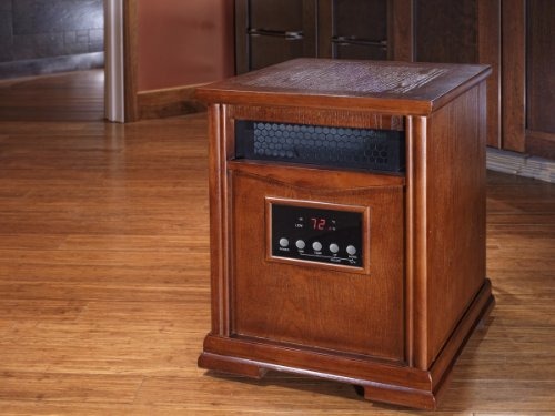 Lifesmart Deluxe Stealth Series Stealth 6 1200 TO 1600 Square Foot Quartz Infrared Heater