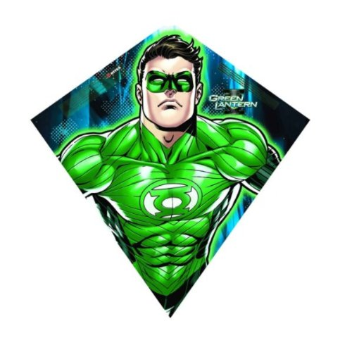 SkyDiamond Poly Diamond Kite: Green Lantern - 1