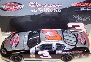 Dale Earnhardt Sr 3 The Victory Lap 7x Champion Seven Time Champion Monte Carlo