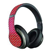 buy Red Christmas Dots Skin/Decal Compatible With Beats Studio Wireless