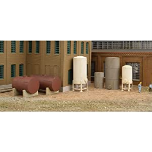 Walthers Cornerstone N Scale Modulars? Storage Tanks pkg(6) at Sears.com
