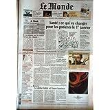 MONDE (LE) [No 18631] du 19/12/2004 - ELLEN MACARTHUR - LA FAMILLE CHAPLIN - SANTE - L'INNOVATION INSDUSTRIELLE...