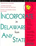 Incorporate in Delaware from Any State