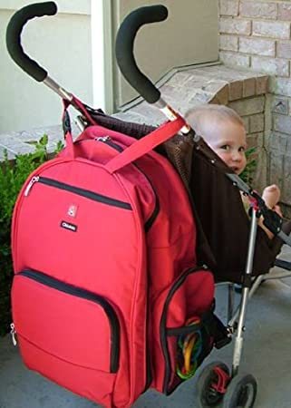 okkatots travel diaper bag review by a mom work at home mom university. Black Bedroom Furniture Sets. Home Design Ideas